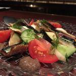 バッカナール - 前菜は秋刀魚♪