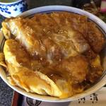 角清 - カツ丼。味がしみておいしい!