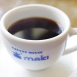 コーヒーハウス マキ - 珈琲
