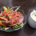 マンマ・ミーア - サラダとスープ