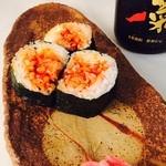 日韓食堂 菜'S - 寿司めし              DEチャンジャ巻 470円