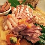 日韓食堂 菜'S - おさしみ盛り  2人前  2300円