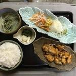 日韓食堂 菜'S - 地鶏照り焼き定食  800円