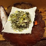 日韓食堂 菜'S - 別注天然 すずきタタキ