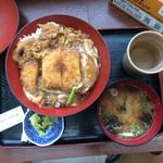 44304691 - 玉子ソースカツ丼(¥650)
