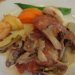 レストラン ル・ブラン - 豚フィレ肉のソテー