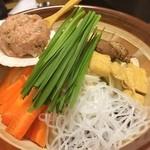 相撲茶屋 寺尾 - 塩ちゃんこ鍋