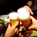 やさいの王様 - 乾杯ビール
