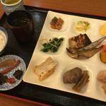 44308752 - 朝食バイキング 盛り付け例:和食