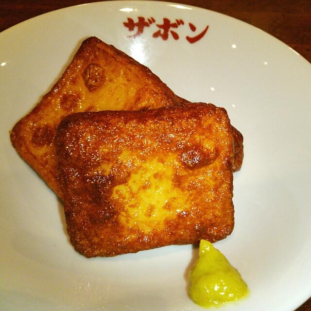 ザボン 六本木 - 薩摩揚げ❤ヾ(´∀`ヾ)
