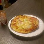 ハイタニ - 料理写真:手作りピザ!(580円)