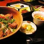 4431963 - 鮪のほほ肉ステーキ丼¥1000