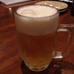 ピッツェリア ピアーチェ - 生ビール 350円
