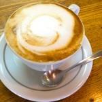 ブルーレイコーヒー - セットのカプチーノ