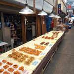 浜岡惣菜店 - いも天、きびなご、シイラやウツボの唐揚げ、かつおの天ぷら、串カツに唐揚げ…