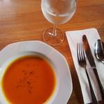 44311333 - +300円でつけた季節のスープ(かぼちゃ)