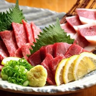 ★馬肉を中心に熊本の郷土料理も多数ご用意