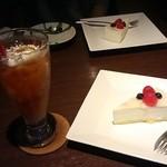 Cafe Miyama - ケーキセット(970円)