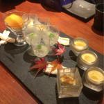 魚匠 銀平 - 鯛飯コース¥7560 デザート 四種