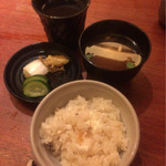魚匠 銀平 - 鯛飯コース¥7560 鯛飯