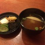 魚匠 銀平 - 鯛飯コース¥7560 汁物