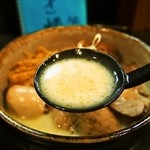 とりぱん - とりぱんDX しお(スープ)
