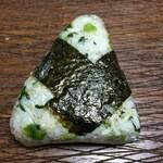 おにぎり屋さん - 野沢菜 140円