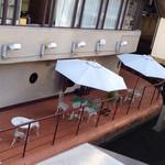 珈琲艇キャビン - デッキテラス