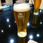 たつみ寿司 - 生ビール。これで中生?