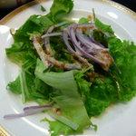 たつみ寿司 - サラダ
