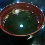 たつみ寿司 - お汁