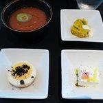 4432817 - 前菜3種と冷製スープ