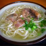 田舎 - 料理写真:ソーキそば(大)