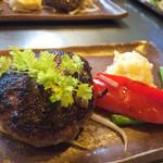 きゅうろく鉄板焼屋 - ハンバーグランチ