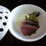 4433795 - ①刺身 鰹と鯛