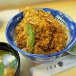 千束いせや - 天丼(980円)