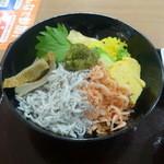 焼津丸 - 静岡名産丼980円