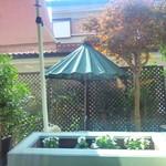 ママンカフェ - お庭の眺め