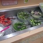 44337429 - 生野菜のコーナー