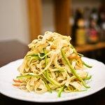中国創作居酒屋 雲莱 - 干し豆腐のピーマン細切り和え