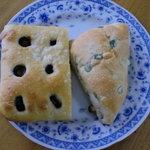 石窯パン工房サンメリー - オリーブとローズマリーのフォカッチャ