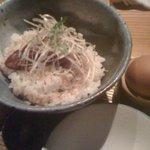 居酒屋 らもん - 鯛のあらだき汁で卵かけ御飯