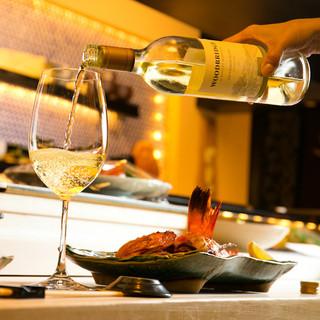 ◆江戸前鮨×厳選ワインのマリアージュ◆