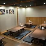天ぷら海鮮 五福 - 3階個室は1フロア貸切り!!