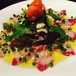ジェニスガストロ - 本日の鮮魚のカルパッチョ