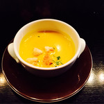 オーク ドア - 料理長特製スープはカボチャのスープ