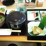 創作料理 とうぐら - 松花堂弁当1080円