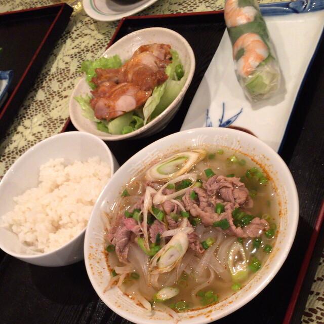 ベトナム料理専門店 サイゴン キムタン - ランチD(890円)2015年11月