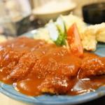 天ぷら・お食事処 つくし - 料理写真:チキンカツマデラソース定食
