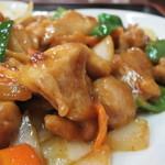 上海飯店 - 鳥肉味噌味炒め